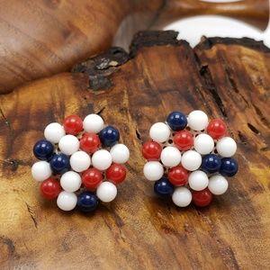 Vintage Napier red white blue patriotic USA vote